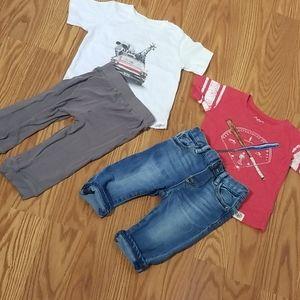 Kickee pants,gap,west an wily 12mo